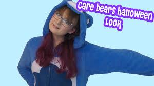 my halloween costume care bears grumpy bear youtube