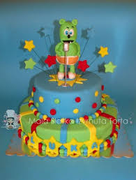 gummy bear cake my cakes my hobby pinterest gummy bear