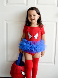 Spider Woman Halloween Costumes Spider Tutu Bodysuit Superhero Costume Toddler Baby