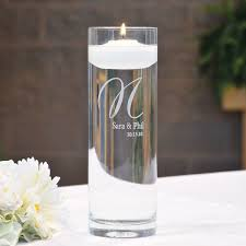 Glass Vase Cylinder Personalized Unique Custom Engraved Vases And Candle Holders By An