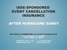event insurance event cancellation insurance