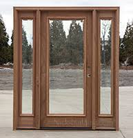 All Glass Exterior Doors Clearance Exterior Doors With Sidelights