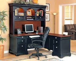 desk wood corner desk with drawers large corner desk with hutch