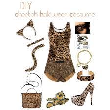 Halloween Cheetah Costumes Diy Cheetah Halloween Costume Polyvore