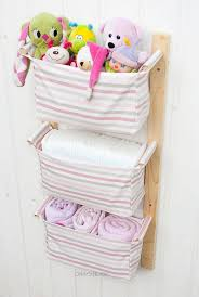 Hanging Changing Table Organizer Change Table Storage Custom Organizer Nursery Storage Baskets