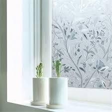 Window Decor Film Opaque Privacy Decorative Glass Window Film Home Decor Static Self