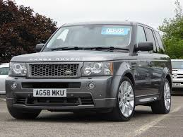 tan range rover used 2008 land rover range rover sport 3 6 td v8 hst 5dr for sale