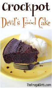 crockpot fudge cake recipe 6 ingredients the frugal girls