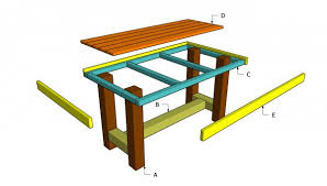 Wood Folding Table Plans Home Design Surprising Wood Table Plans Free Wooden Building