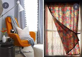 unique window curtains eye candy 10 unconventional curtain ideas for your home curbly