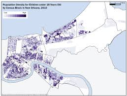 Map Of New Orleans Area by New Orleans Youth The Data Center