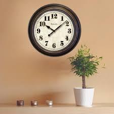 wall clocks westclox 24 in round wall clock 32213 the home depot