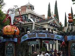 Halloween Fun House Decorations Mouseplanet Which Disney Park Celebrates Christmas Best By Jeff