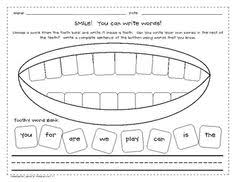 12 best images of tooth worksheets for first grade healthy teeth