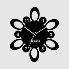 abstract clocks art and wall decor items unique design wall clocks designer laser