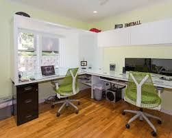 Home Office Design Modern Magnificent Home Office Design For Two People Magnificent