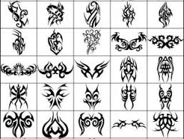 tribal heart tattoos 1373 photoshop free brushes download