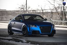 audi rosemeyer blue chrome audi tt rs by rohana wheels audi tt mk2 pinterest