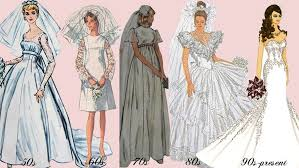 history of the wedding dress history of wedding dresses typeanything