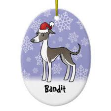 whippet ornaments keepsake ornaments zazzle