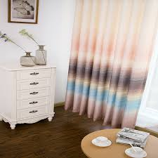 Shabby Chic Curtains For Sale by Pink Linen Print Shabby Chic Curtains On Sale