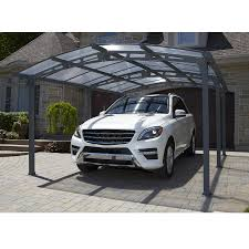 Open Carport by Shop Carports U0026 Patio Covers At Lowes Com