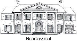 Architectural Design Styles Neoclassical Style 1720 1830 Architecture Design Style