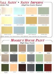 60 colors from benjamin moore u0027s 1969 paint palette retro renovation