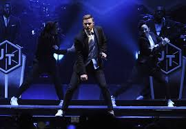 Justin Timberlake Not A Bad Thing Review Justin Timberlake Brings Intensity At The Forum La Times