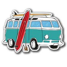volkswagen van art surfer clipart van pencil and in color surfer clipart van