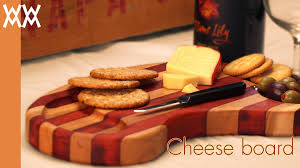 wooden cheese board you can make this simple cutting board