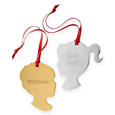st jude children s research hospital silhouette ornament