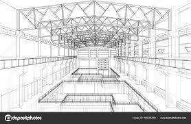industrial zone sketch vector u2014 stock vector cherezoff 168288580