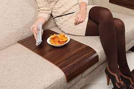 Walnut Sofa Table by Amazon Com Sofa Tray Table Long Brazilian Walnut Sofa Arm
