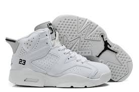 kid jordans cheap real comfortable air 6 all white for kids for sale