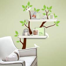 White Tree Wall Decal Nursery by Baby Nursery Fair Ideas For Baby Nursery Room Decoration With