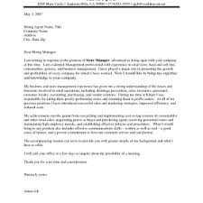 best assistant store manager cover letter examples livecareer