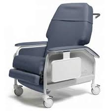 Jerry Chair Wheelchair Extra Wide Clinical Care Recliner Lumex Fr587w Large Geri Chair