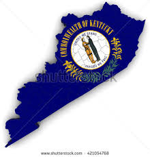 kentucky flag map kentucky map stock images royalty free images vectors