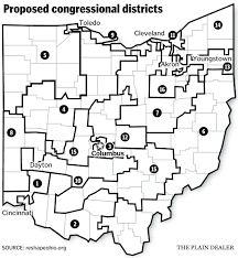 Map Ohio State by Ohio Congressional Redistricting Could Lead To Interesting