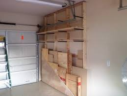 Building Wood Shelf Garage by Lumber Rack Bottom Rolls Out Jigs Shop Plans Idea U0027s