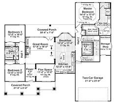 3 bedroom 2 bath 2 car garage floor plans craftsman style house plan 3 beds 2 baths 1816 sq ft plan 21