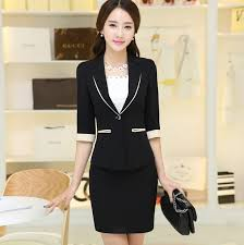 office uniform designs for women korean style office uniform