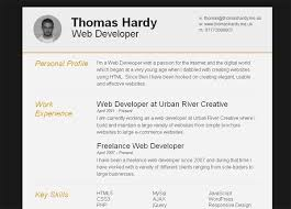 Free Html Resume Templates Free Html Resume Template Prepossessing 15 Best Html5 Vcard And