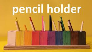 wooden pencil holder plans wooden pencil holder diy youtube