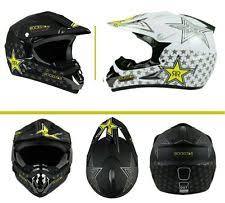 rockstar motocross helmet rockstar dirt bike helmet ebay