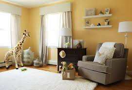 Yellow Curtains Nursery by Baby Nursery Neutral Nursery Features White Crib With Dreamy