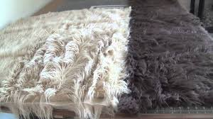 Flokati Wool Rug How To Fluff Your Faux Flokati By Custom Photo Props Youtube