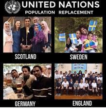 England Memes - population nations scotland sweden england germany england meme on