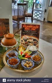 cha e cuisine serving of khao chae traditional royal palace cuisine